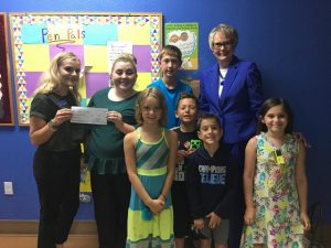 first community bank of the ozarks boys and girls club buck up for kids group picture